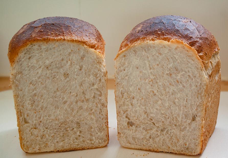 ラード入り食パン